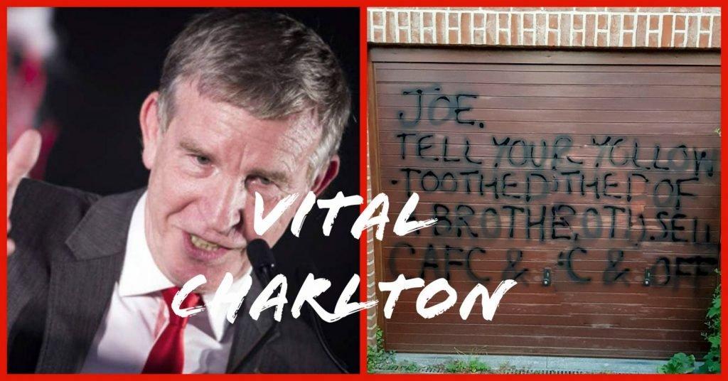 More vandalism takes place in Belguim in the wake of Dalman's tak