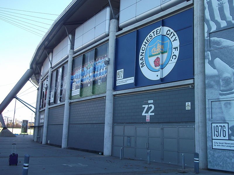 City of Manchester Stadium October 2015 09
