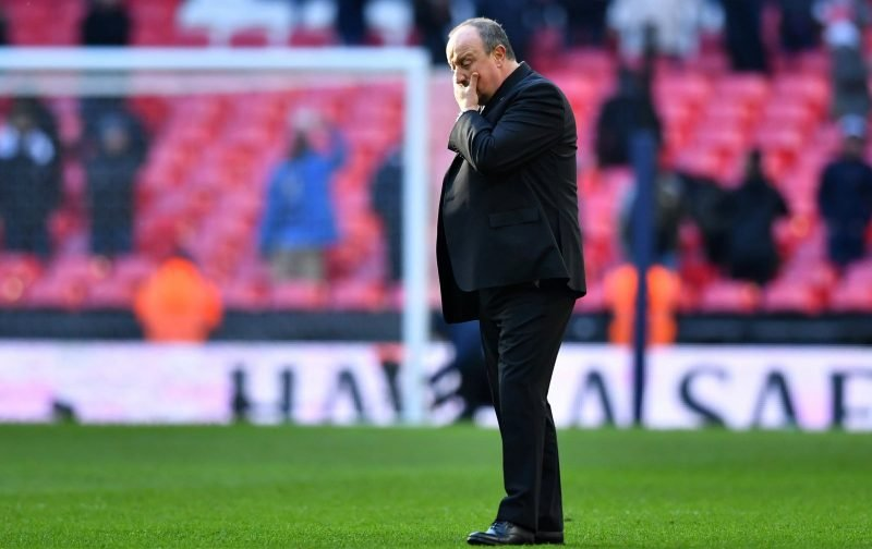 Benitez admits he has a selection headache for Burnley clash