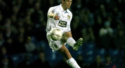 Leeds United former player Ian Harte in 2003