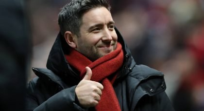 Bristol City manager Lee Johnson before the Bolton FA Cup match