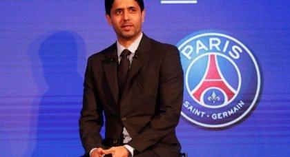 Paris Saint-Germain chairman and CEO Nasser Al-Khelaifi during a AccorHotels press conference