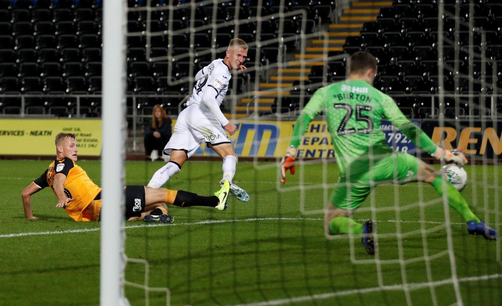 Swansea City vs Cambridge United Carabao Cup