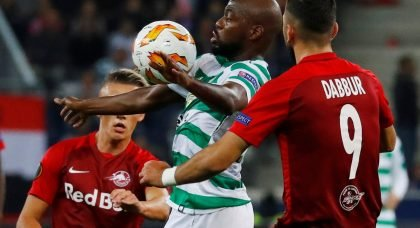 Youssouf Mulumbu in action for Celtic