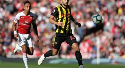 Marc Navarro in action for Watford