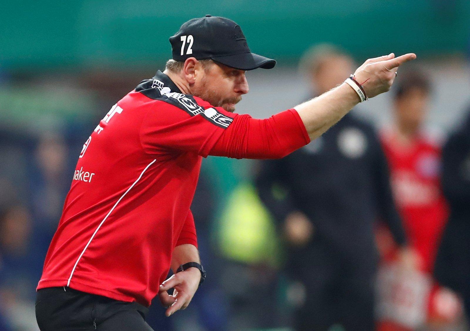 SC Paderborn coach Steffen Baumgart
