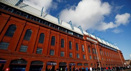 General view of Ibrox