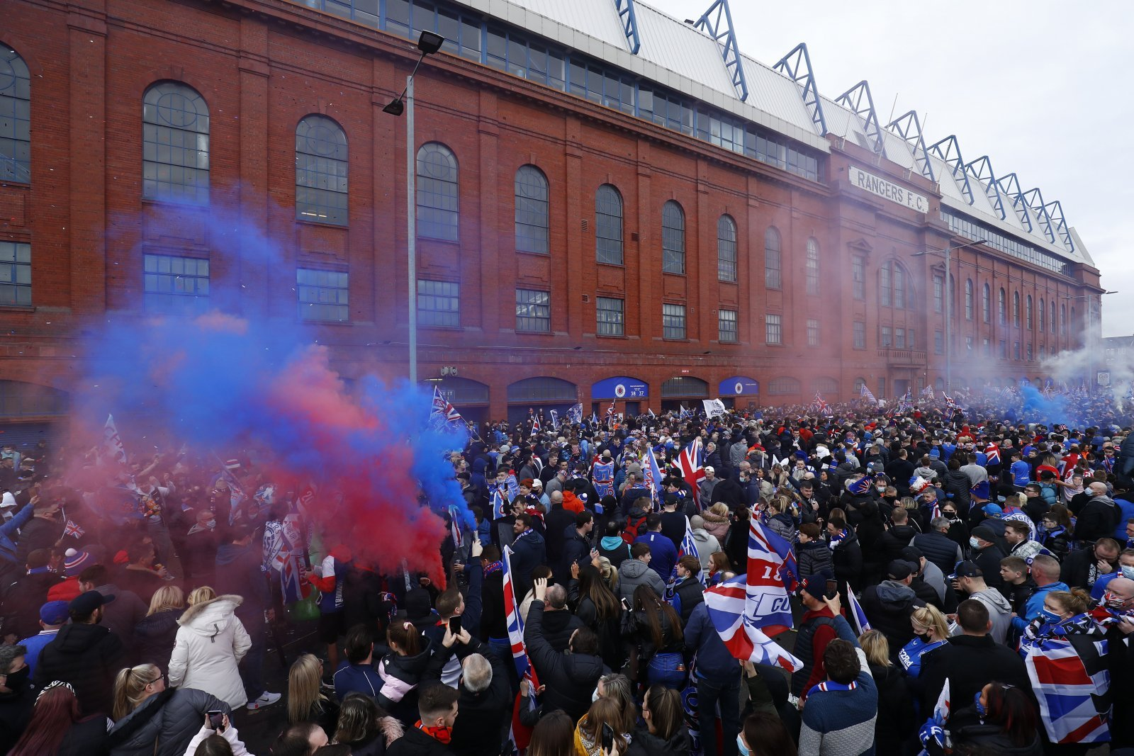 55 wrapped up, things get emotional for Gers fans